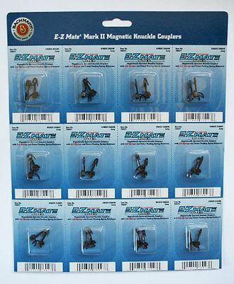 Bachmann Trains E - Z Mate Mark II Magnetic Knuckle Couplers