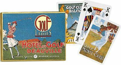 Piatnik Playing Cards - Ladies Golf, Double Deck