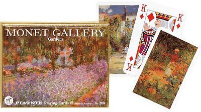 Monet: Gardens - Double Deck Playing Cards