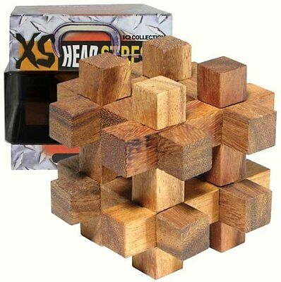 Family Games XS Head Stress Series Timber Box IQ Collection