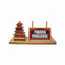 Square Root Games 0027 Pagoda Challenge in Natural Finish So
