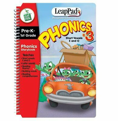 PHONICS BOOK #3 A Day At Moss Lake (Mic Enabled) BOOK and CA