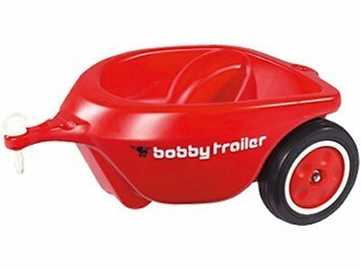 Big Bobby Car Trailer Red (Ride-On Accessory)