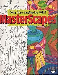 MindWare MasterScapes Coloring Book Masterpieces Imagine Pat
