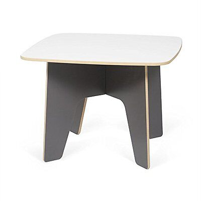 Sprout Kids Table, Grey and White