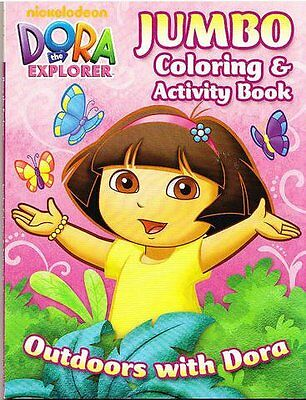 """Dora the Explorer Jumbo Coloring and Activity Book """"Outdoors"""