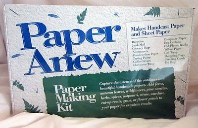 Paper Anew for Kids Paper Making Kit