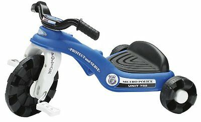 American Plastic Toy Police Cycle