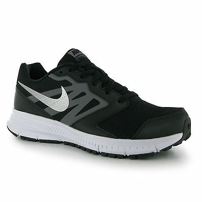 Nike Downshifter VI Running Trainers Junior Boys Blk/Silv Sports Shoes Sneakers