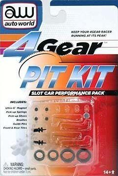 4-Gear Slot Car Pit Kit
