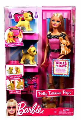 Barbie Year 2009 Fashionistas Series 12 Inch Doll Playset - POTTY TRAINING