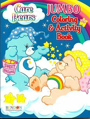 Care Bears Jumbo Coloring & Activity Book ~ Bedtime and Chee