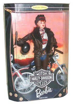 Barbie Year 1998 Motorcycles Harley-Davidson 2nd In A Series 12 Inch Doll S