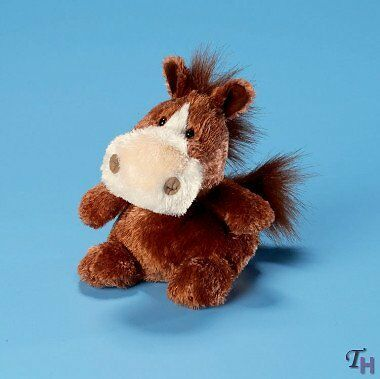 """Luvvies Wendy Horse 5"""" by Russ Berrie"""