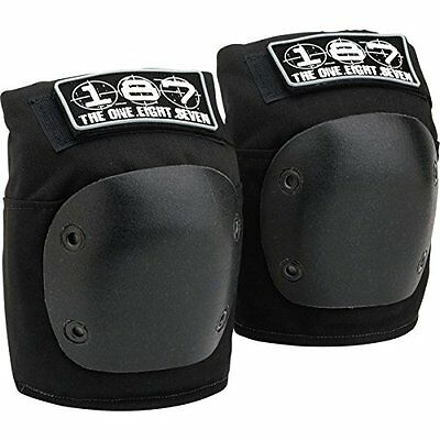 187 Fly Black X-Large Knee Pads