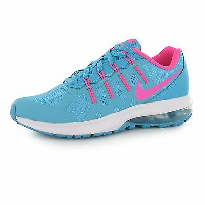 Nike Air Max Dynasty Running Trainers Junior Girls Blue/Pnk Sports Sneakers