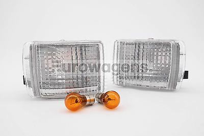 Ford Escort Cosworth 92-95 Clear Front Indicators Repeaters Pair Left Right