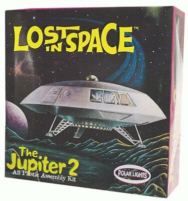 Lost in Space classic Jupiter 2 plastic model assembly kit