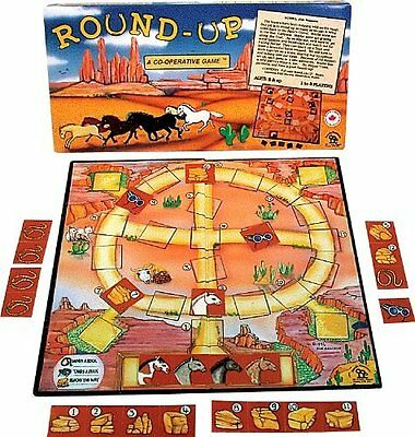 Cooperative Game for Cowgirls and Cowboys, Round-Up