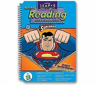 LeapPad: Leap 2 Reading - Superman Interactive Book and Cartridge