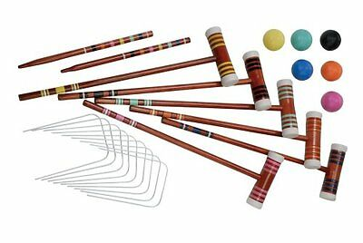 Halex Select 6-Player Croquet Set in Deluxe Carry Case