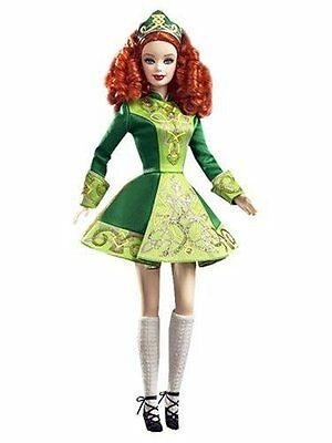 Festivals Of The World: Irish Dance Barbie Doll
