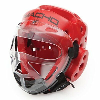 Macho Dyna Rival Clear Face Shield