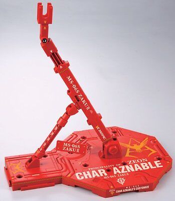 Gundam Action Base Char Aznable Color Display Stand