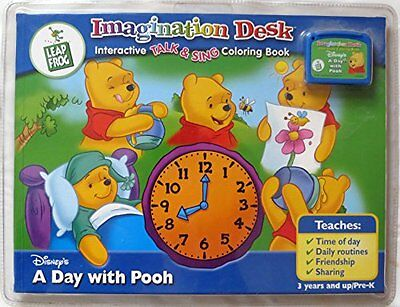 Leap Frog Imagination Desk Interactive Color-and-Learn Book
