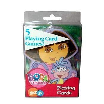 Dora the Explorer Shaped Playing Cards