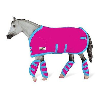 Breyer Tack Blanket & Shipping Boots - Hot Pink!