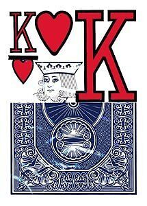 Low Vision Playing Cards Poker Size