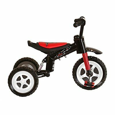 Polaris Dragon Tricycle with Steel Frame and Suspension Fork
