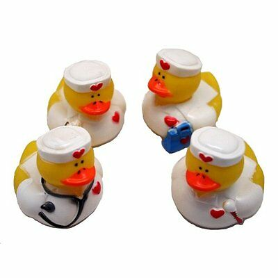 Lot of (12) Nurse ~ Rubber Ducks ~ Party Favors / Scrubs Doctors