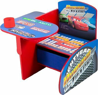 Disney Cars Chair Desk with Pull out under the Seat Storage