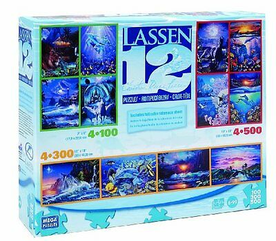 Lassen 12 in Boxed Puzzles