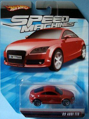 Hot Wheels Speed Machines '09 Audi TTS RED 1:64 Scale