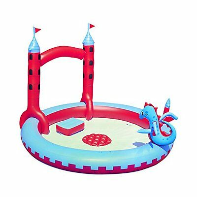 87x76x59 Interactive Castle Play Pool