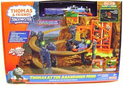 THOMAS AT THE ABANDONED MINE Train Set Trackmaster Exclusive