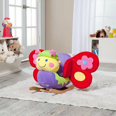 Charm Company Butterfly Rocker with Musical Sound