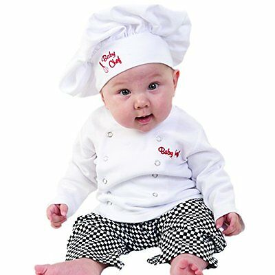 Baby Aspen Baby Chef 3 Piece Layette in Culinary Gift Box, W