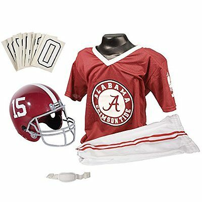NCAA Alabama Crimson Tide Deluxe Youth Team Uniform Set, Small