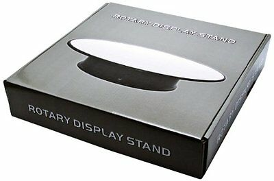 """Rotary Rotating Mirror Top Display Stand - 12"""""""