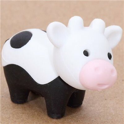 Iwako Cute Cow Japanese Eraser From