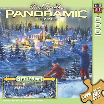 Jigsaw Puzzle Panoramic 1000 Pieces 13X39