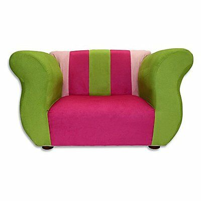 KEET Fancy Kid's Chair, Pink/Green
