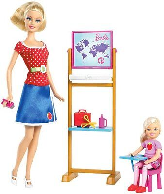 Barbie I Can Be Teacher Doll Playset