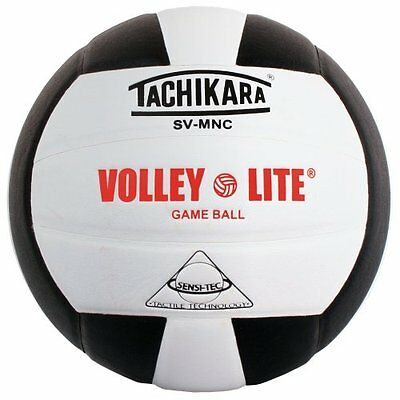 Tachikara SVMNC Volley-Light Training Volleyball (Black)