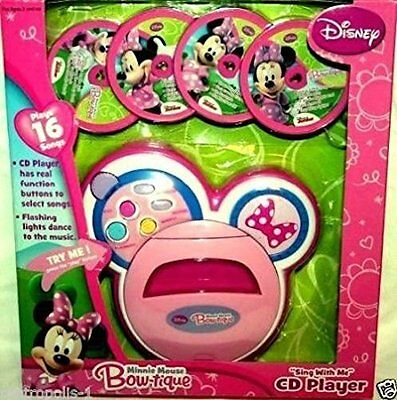 Minnie Mouse Bowtique Sing with Me CD Player