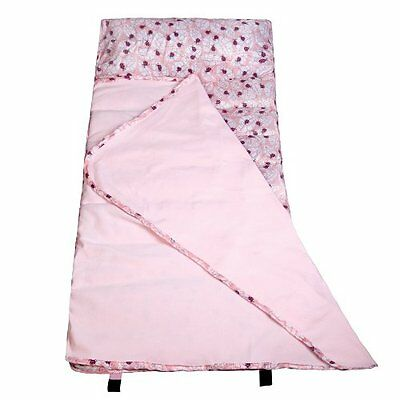 Wildkin Lady Bug Pink Easy-Clean Nap Mat, One Size